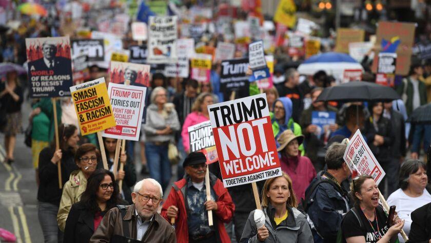 US President Donald J. Trump visit to United Kingdom, London - 04 Jun 2019