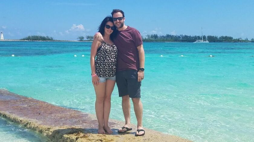 Natasha Allen and husband Richard spent Sept. 4 in Nassau, Bahamas, before they found out their crui