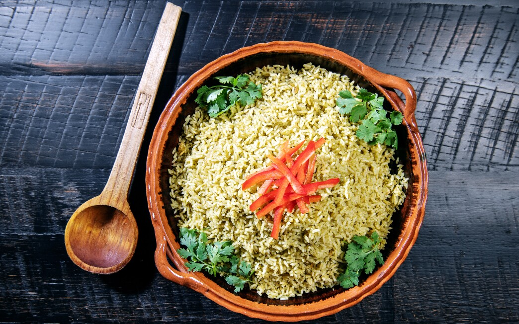 This vegan cilantro lime rice is the perfect accompaniment to any meal.