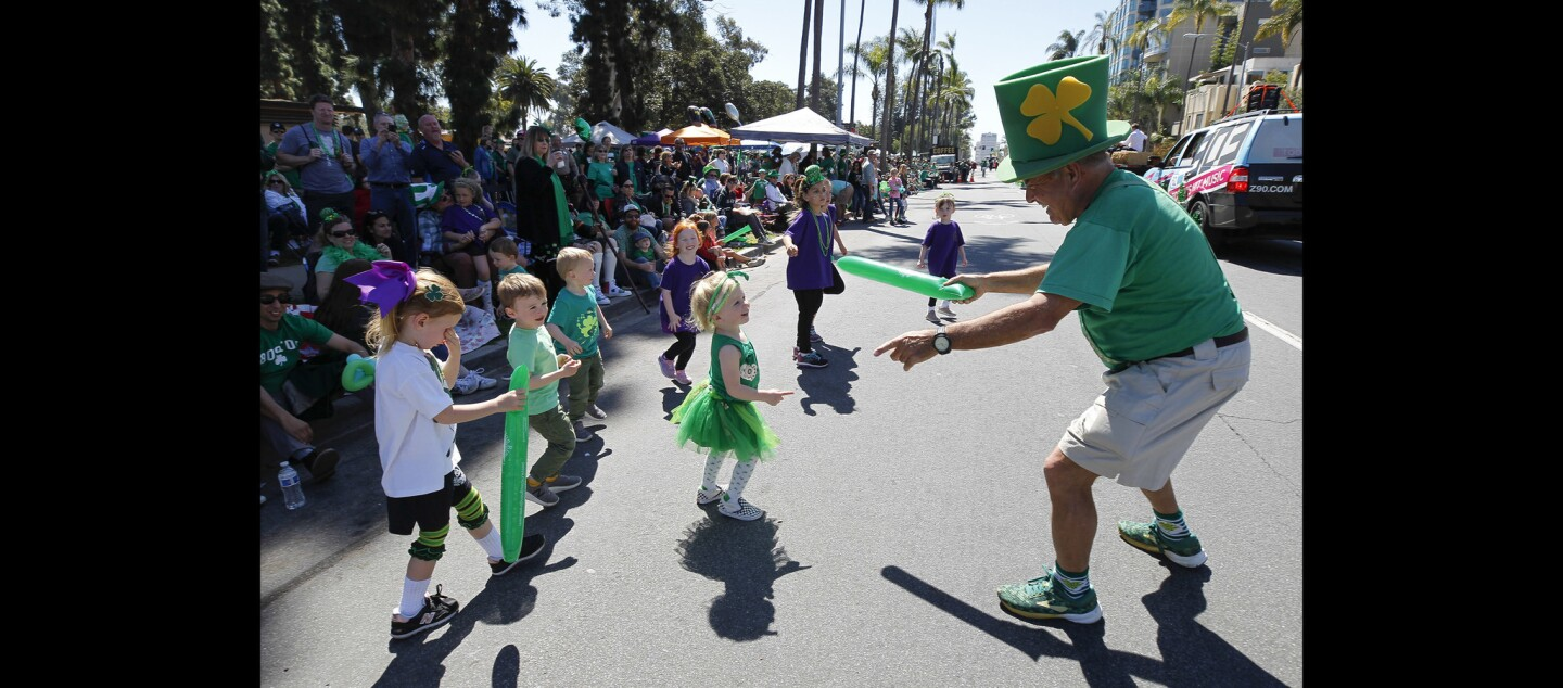39th annual San Diego St. Patrick's Day Parade