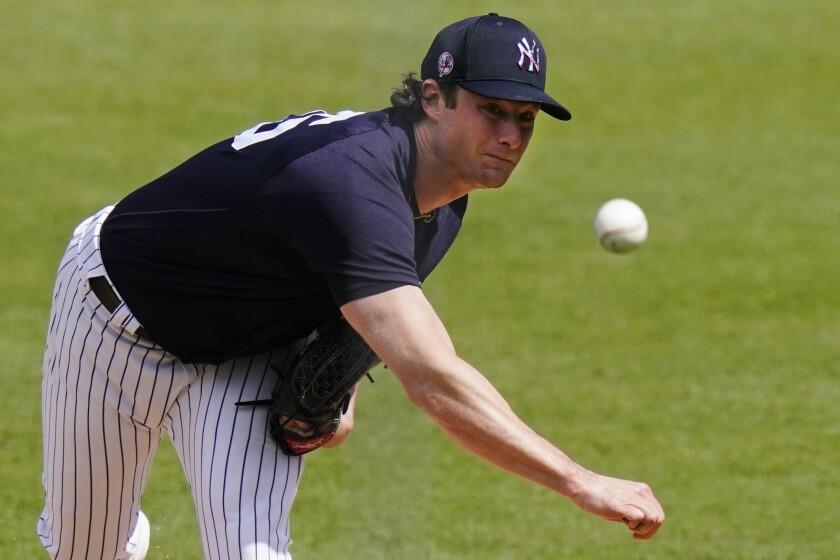 The Yankees' Gerrit Cole