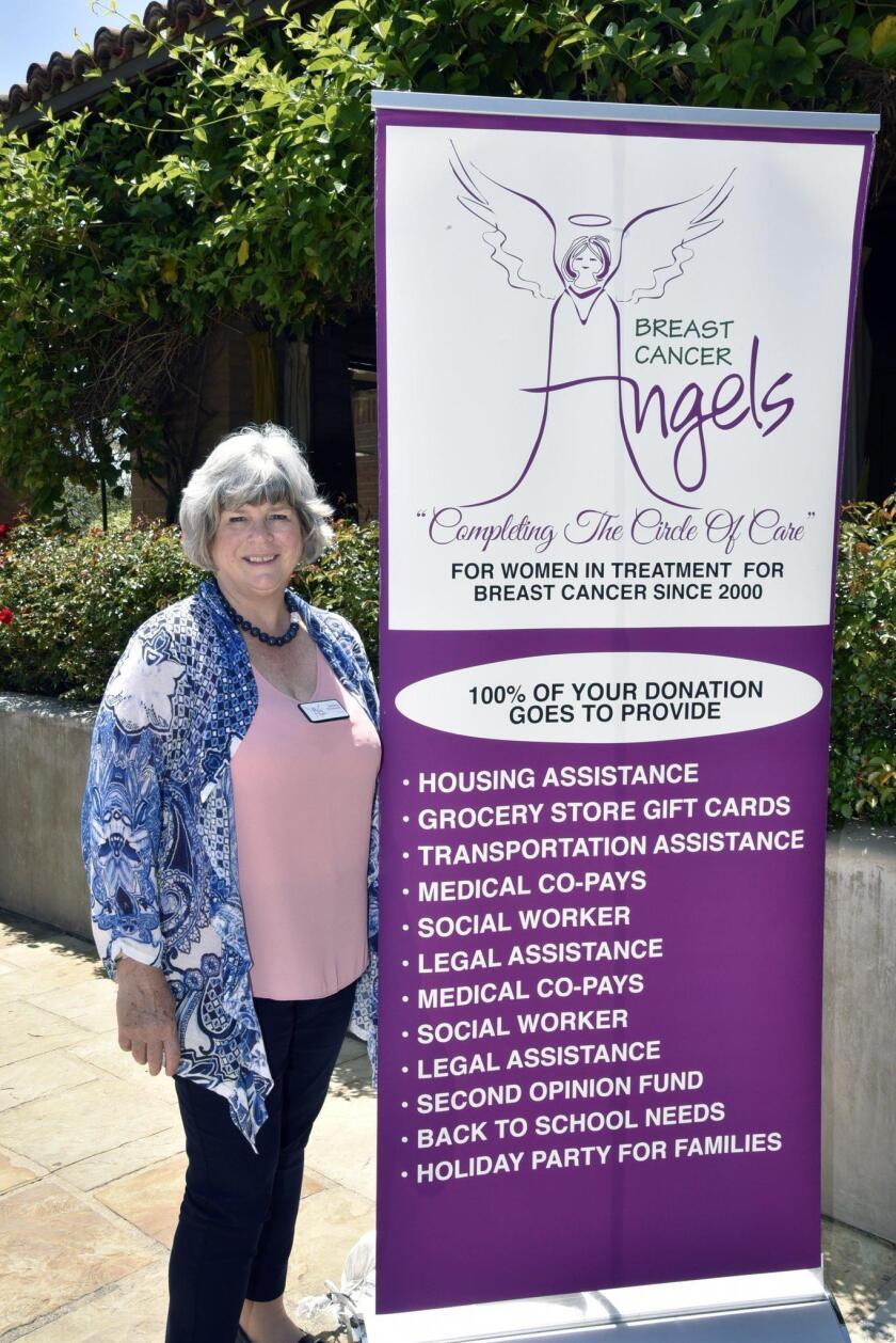Breast Cancer Angels Executive Director Debbie Stroman