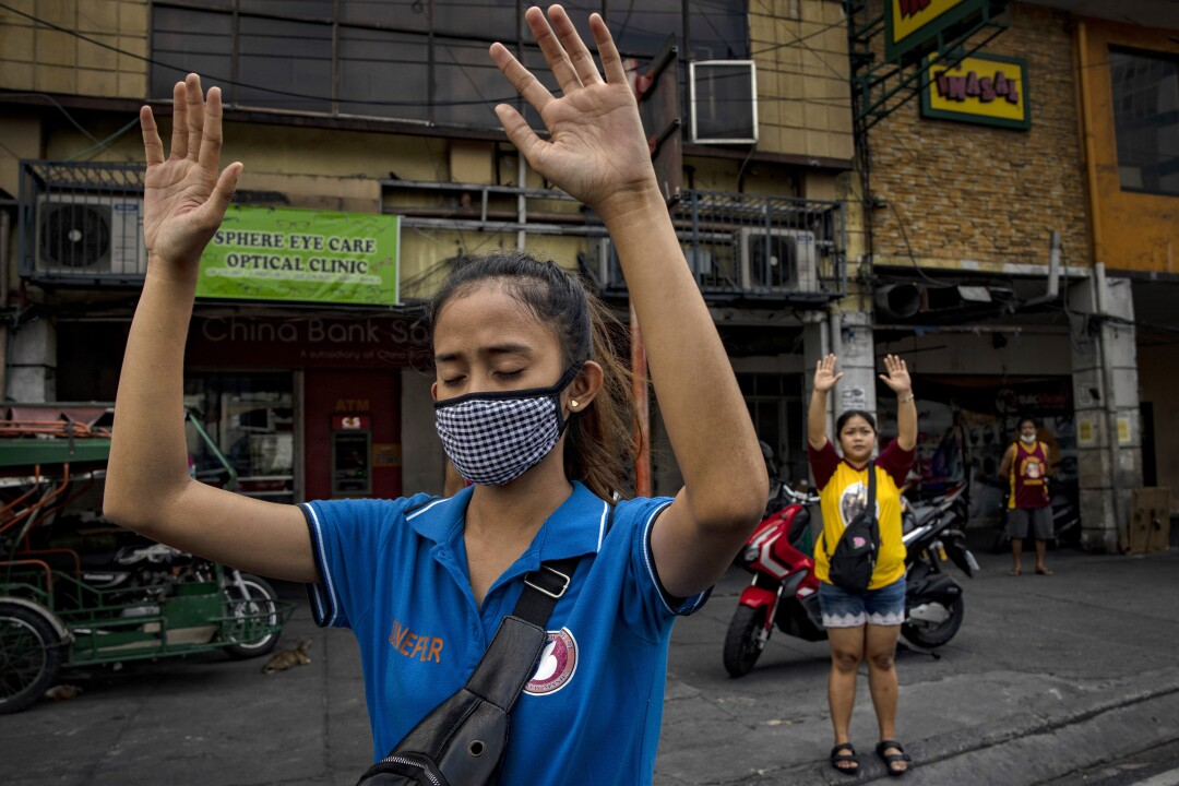 Filipinos Mark The Holy Week Amid The Coronavirus Outbreak