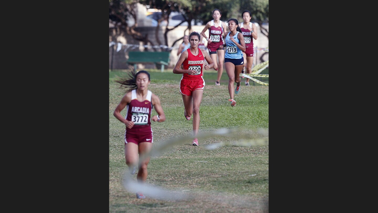 Photo Gallery: Pacific League girls' cross country finals at County Park in Arcadia