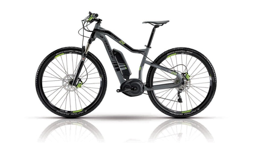 The Haibike XDuro rx 29 has a central motor. Most e-bikes have rear-wheel motors.