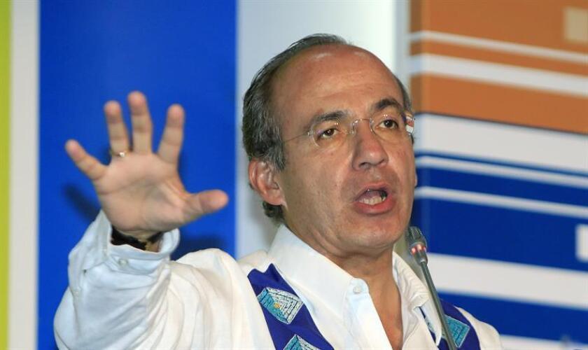 El expresidente de México, Felipe Calderón. EFE/Archivo