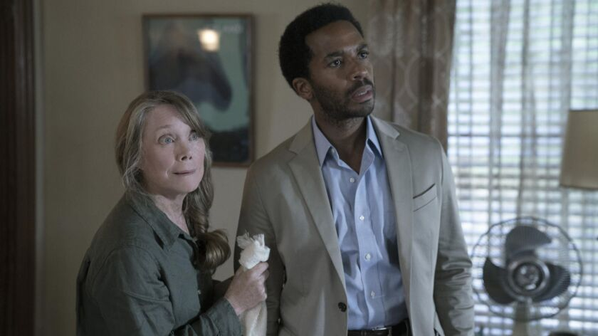 "Sissy Spacek and André Holland star in the first season of ""Castle Rock."""
