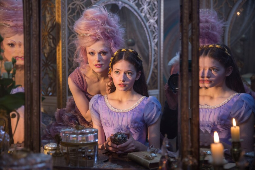 "Keira Knightley is the Sugar Plum Fairy and Mackenzie Foy is Clara in Disney's ""The Nutcracker And The Four Realms."""