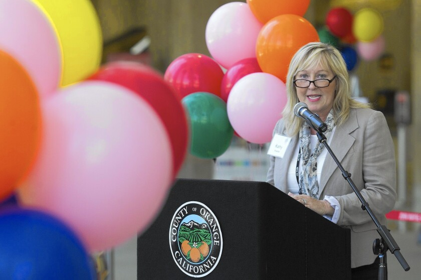 Kathy Kramer was dismissed from her position as chief executive of the OC Fair & Event Center in Costa Mesa. She had previously accepted a job as president and CEO of the Central Washington State Fair.
