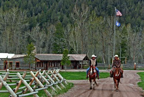 """Riding is a traditional pastime at Rock Creek, just as it is at other dude ranches. However, a lot of things have changed since 1991's """"City Slickers."""" Then, it was all about horses and cattle. Today, a dude ranch can be a place to hold a wedding, a birthday party or even a wine tasting."""