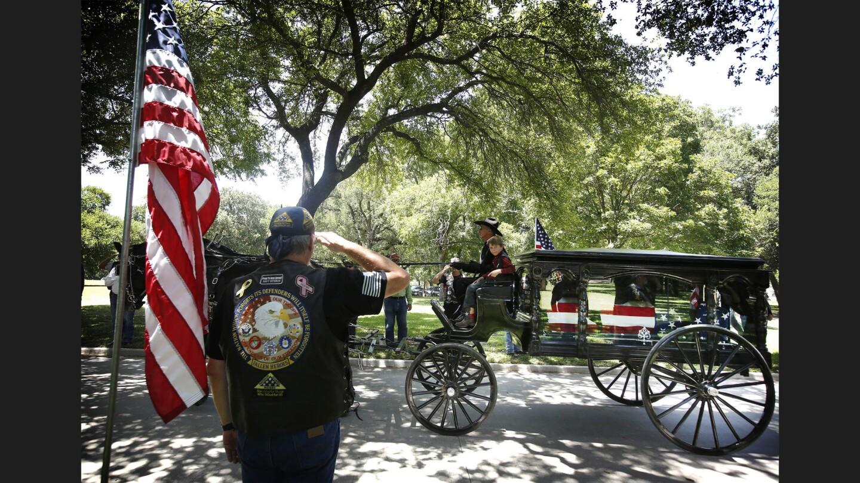 Sr. Cpl. Lorne Ahrens' funeral