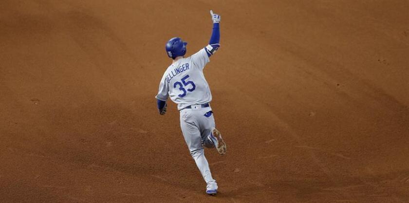 En la imagen, Cody Bellinger de los Dodgers de Los Angeles. EFE/Archivo