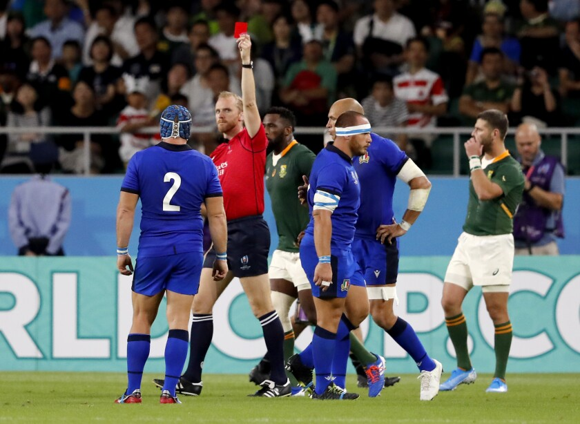 Japan Rugby WCup South Africa Italy