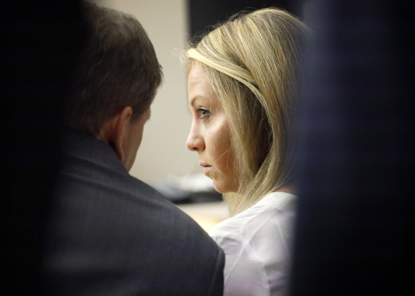 Former Dallas police Officer Amber Guyger in court