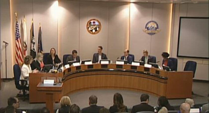 The board of the newly formed San Diego regional community choice aggregation, or CCA, program holds its first meeting in La Mesa on Thursday.