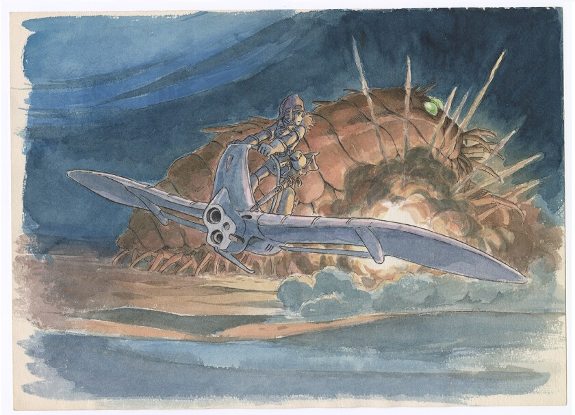 """Imageboard for """"Nausicaä of the Valley of the Wind"""" by Hayao Miyazaki."""