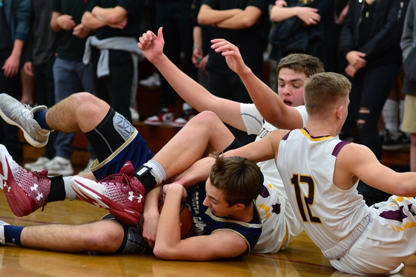 The TPHS Falcons defeated La Costa Canyon 73-62 in an Avocado League finale for both teams on Feb. 16.