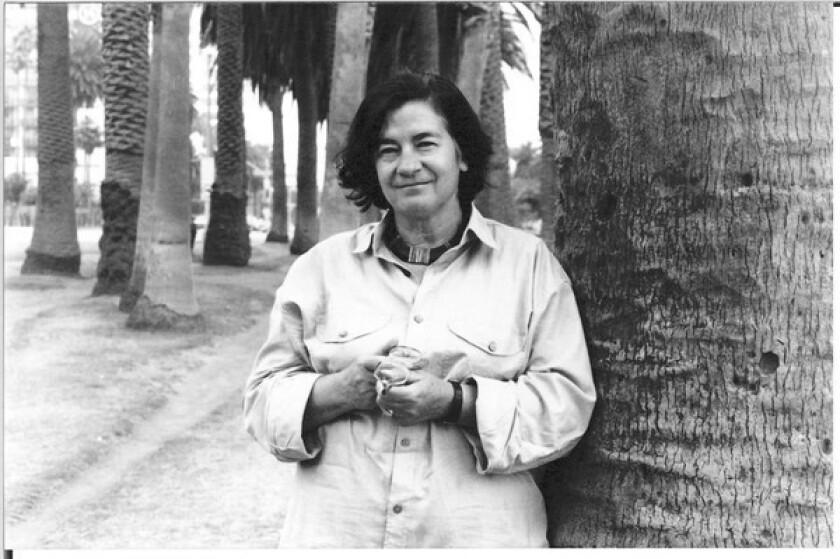 Author Christa Wolf.