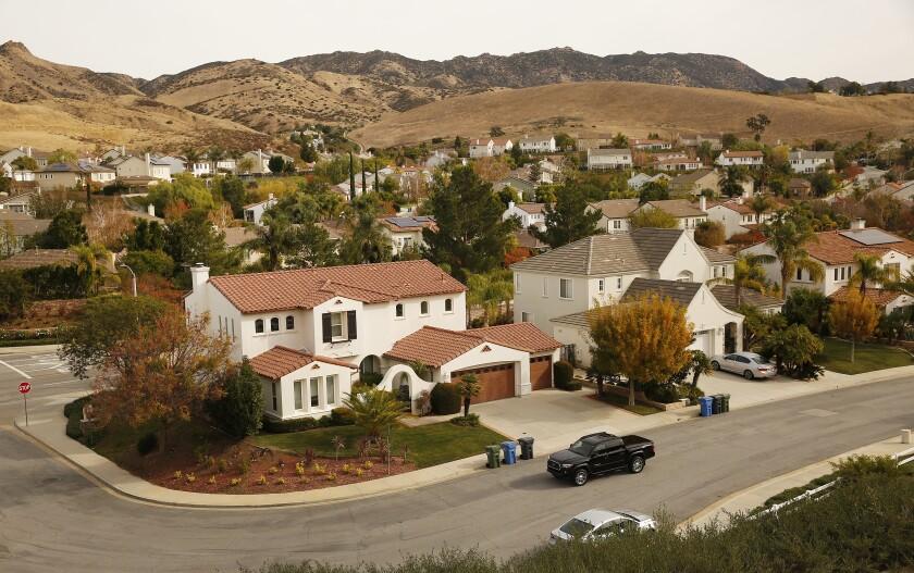 Silverthorne neighborhood in Simi Valley