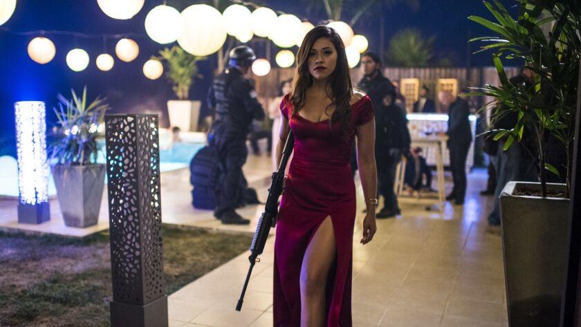 "Gina Rodriguez stars in ""Miss Bala."""