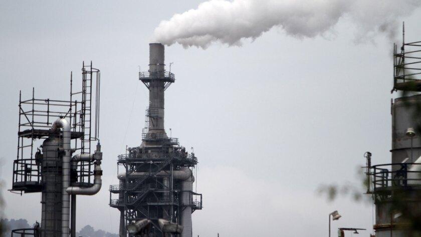 ConocoPhillips refinery in Wilmington, California