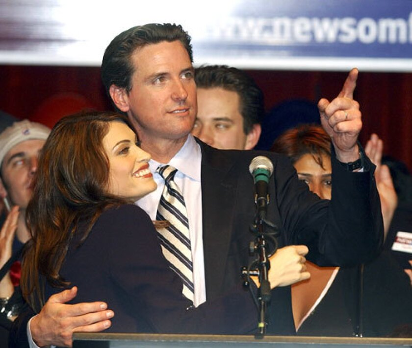Essential California The Ballad Of Gavin And Kimberly And Kamala Los Angeles Times
