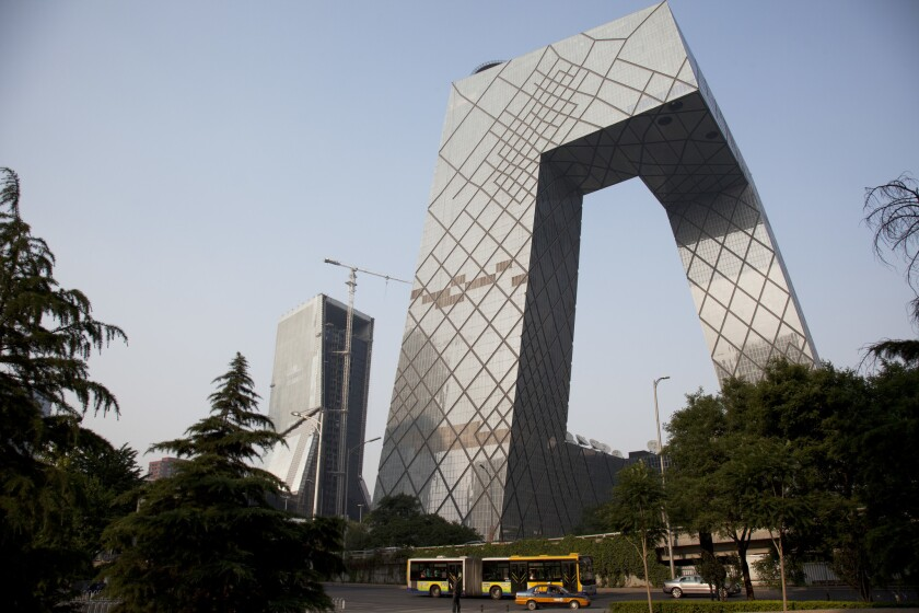 China - Beijing - CCTV Headquarters Building