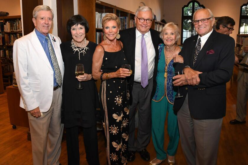 Athenaeum Music & Arts Library salutes its patrons at a party