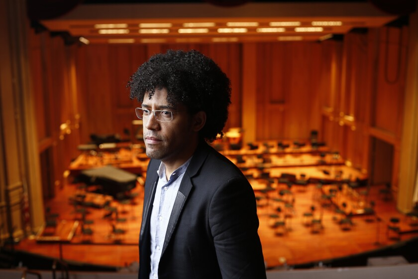 """Rafael Payare will conduct the San Diego Symphony in San Diego Opera's production of """"La bohème."""""""