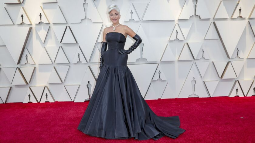 HOLLYWOOD, CA – February 24, 2019 Lady Gaga during the arrivals at the 91st Academy Awards on Sun