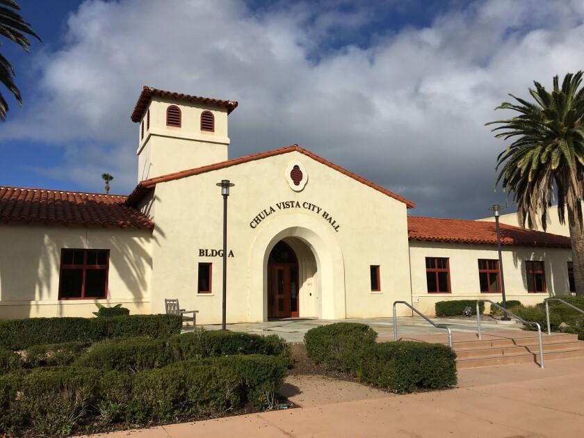 Chula Vista City Hall.