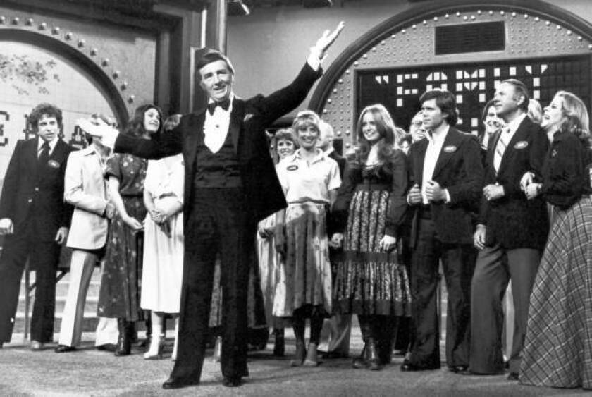 """Richard Dawson hosted the ABC daytime version and the first syndicated version of """"Family Feud"""" from 1976 to 1985. He won a Daytime Emmy Award for his performance in 1978."""