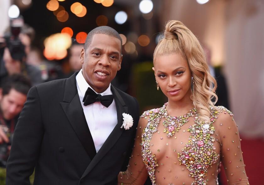 Jay Z y su esposa Beyonce.