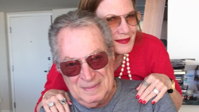 An undated photo of Stanley Weston with his former publicist Lois Whitman