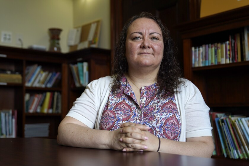 Michelle LaRue, manager of an immigrant advocacy group in Maryland