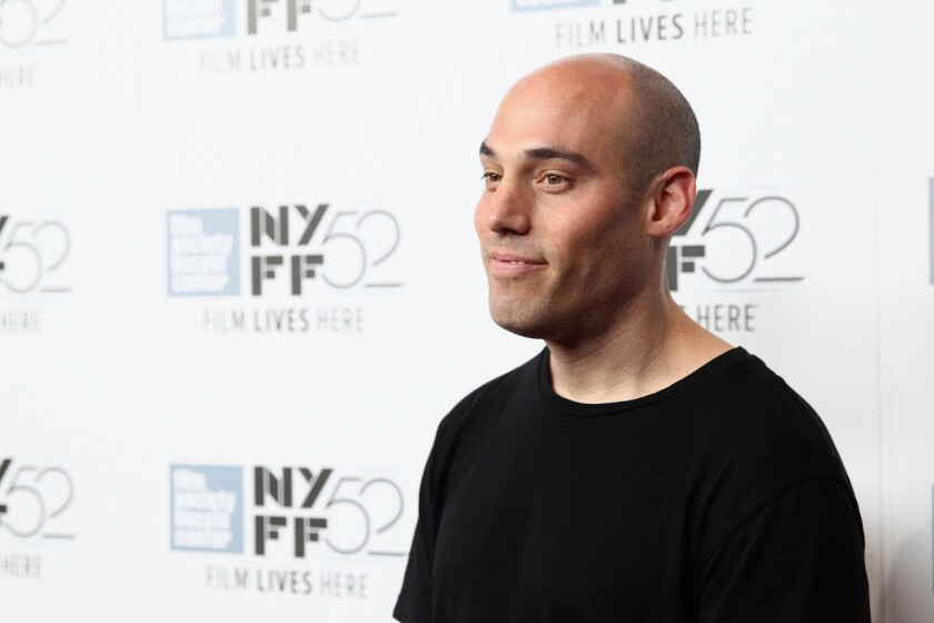 """Director Joshua Oppenheimer attends """"The Look Of Silence"""" premiere during the 52nd New York Film Festival Sept. 30."""