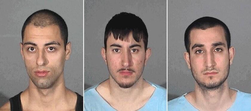 Three Burbank men plead not guilty in stabbing at Santa Monica Pier