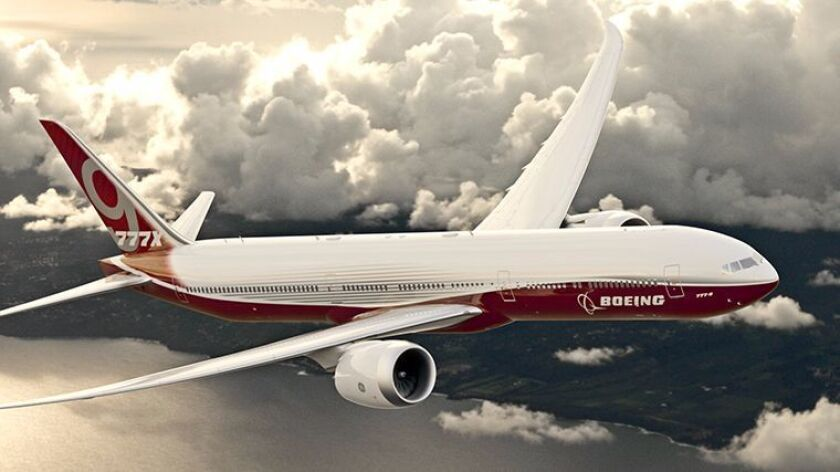 Newer planes such as the Boeing 777X will be pressurized to replicate a lower altitude in the cabin, according to Boeing.