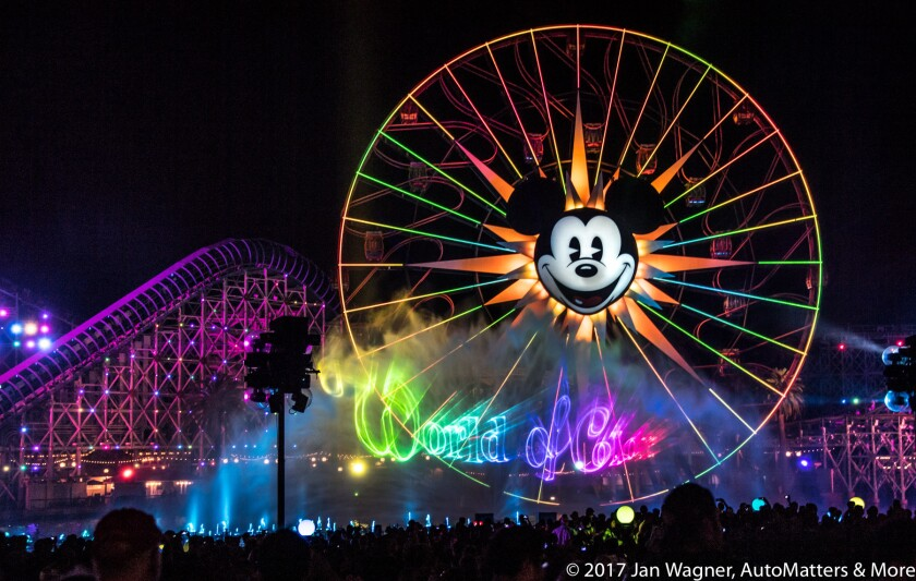 Wonderful World of Color finale at Disney California Adventure