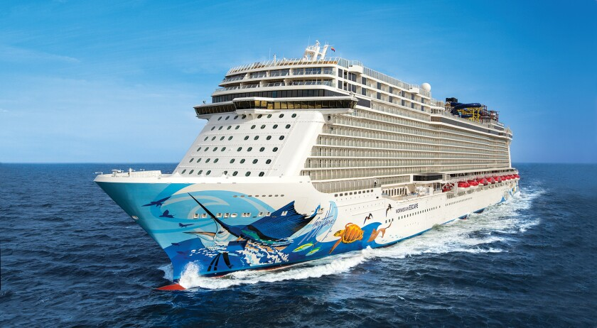 The Norwegian Escape will sail weeklong cruises in 2017 that stop at Harvest Caye in southern Belize.