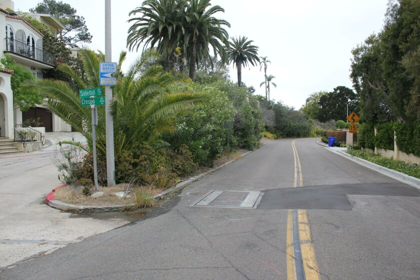 620 miles of sidewalk are 'missing' in San Diego, including some areas of La Jolla.
