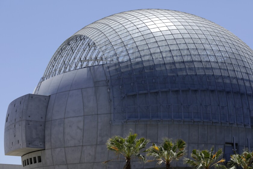 The Renzo Piano-designed sphere at the Academy Museum of Motion Pictures will house a 1,000-seat movie theater.