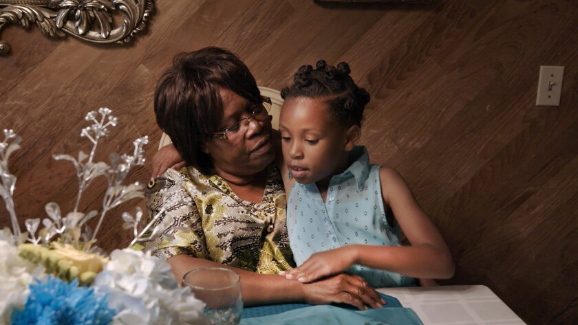 "Foster mother Earcylene Beavers and Casi in the HBO documentary ""Foster."""