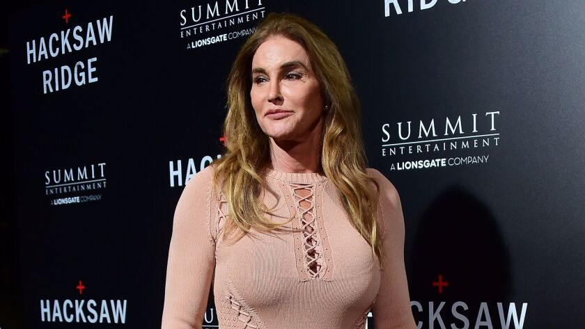 Caitlyn Jenner makes an appearance in Beverly Hills on Oct. 24.