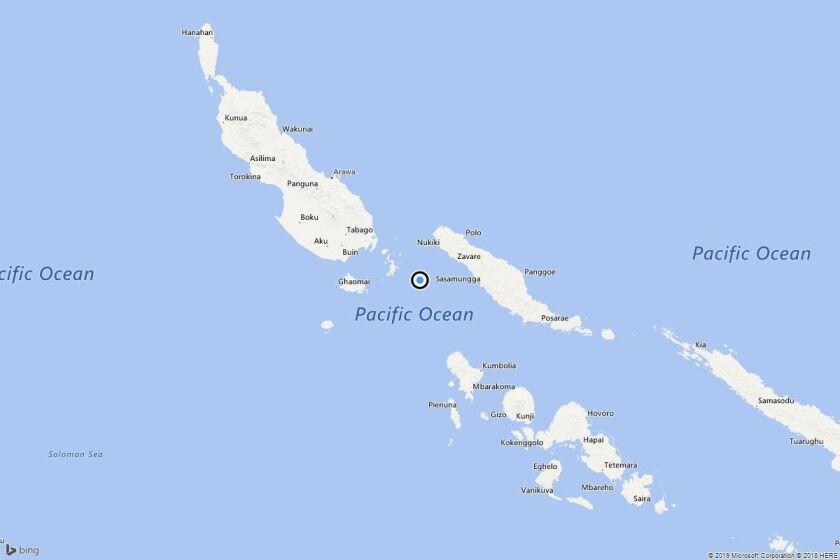 Earthquake: 6.2 quake strikes near Taro, Solomon Islands