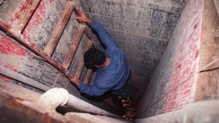 A border tunnel discovered in 1993 ended near a business owned by the family of Antonio Reynoso Gonzalez.