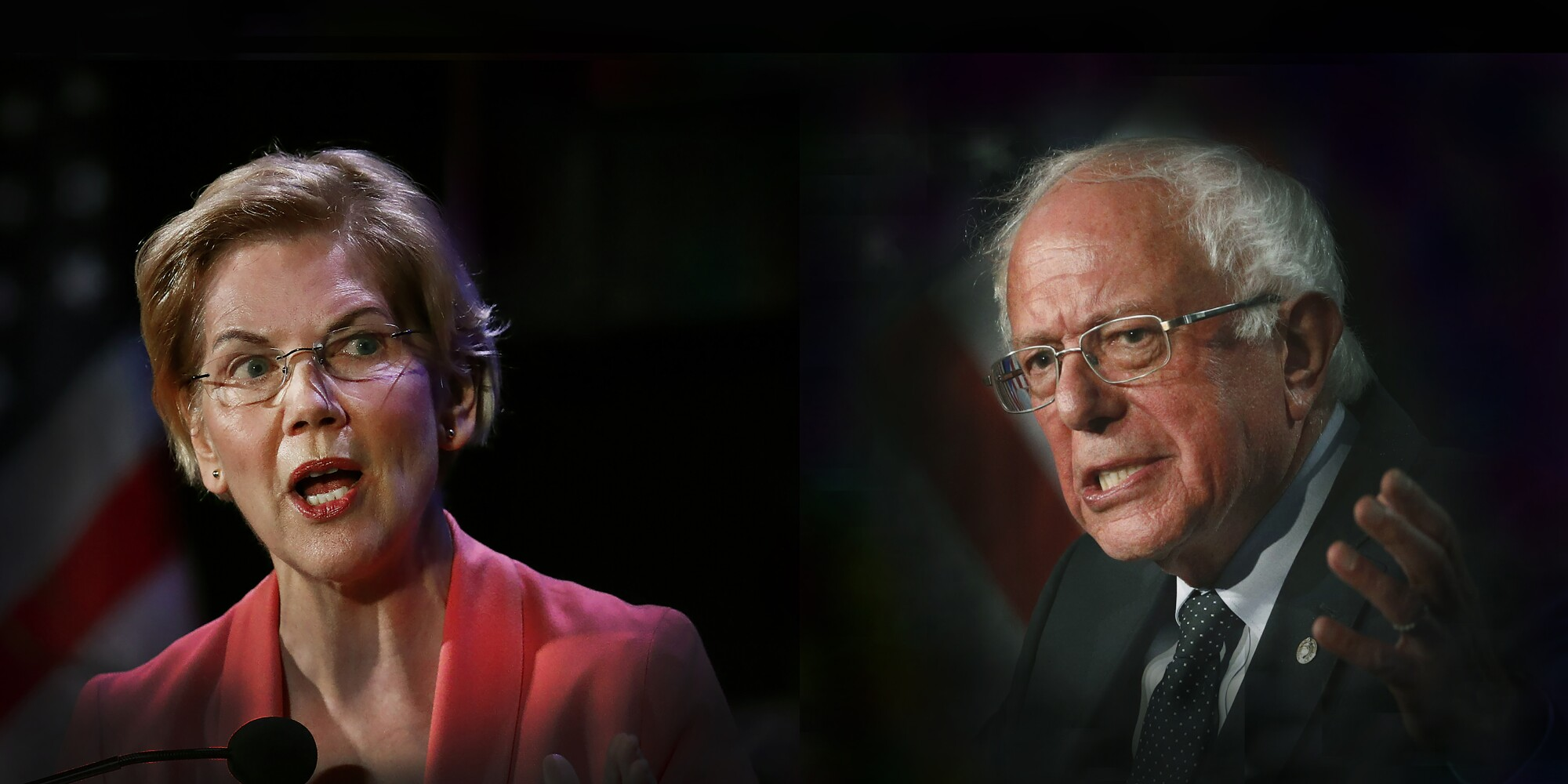 Warren and Sanders
