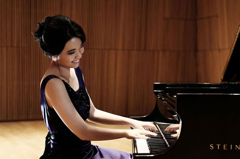 Pianist Joyce Yang