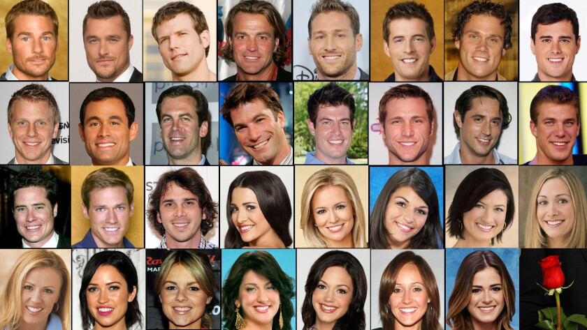 'Bachelors' and 'Bachelorettes' through the years.