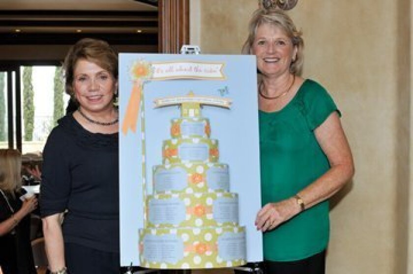DreamKeepers founders Vera Campbell and Pat Gregory (Right) Pastry Chef Heidi Rogers